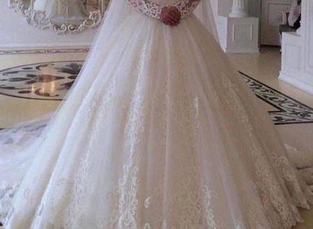 پارچه تور سفید لباس عروس